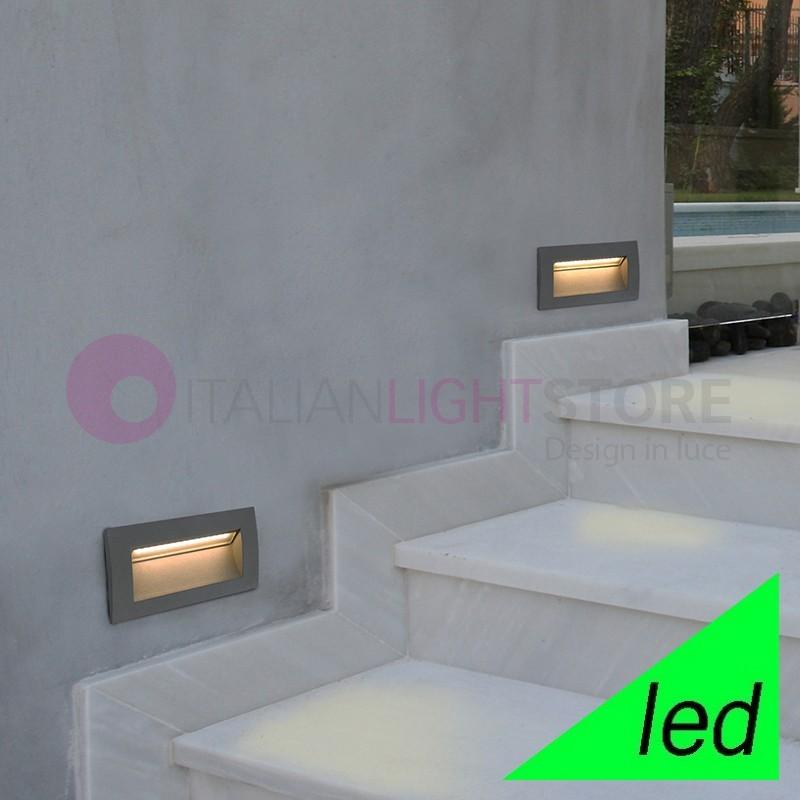 SEDNA-III Spotlight path light Lamp LED Recessed L. 14X7 Outdoor IP65