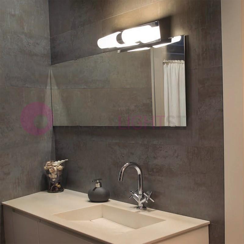 DOKA Lampada da Bagno specchio Design Moderno | Faro