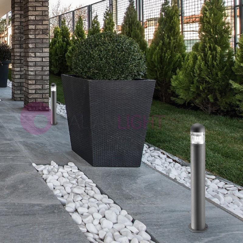 PROVIDENCE Lampioncino Paletto h. 90 cm da Esterno Moderno IP54