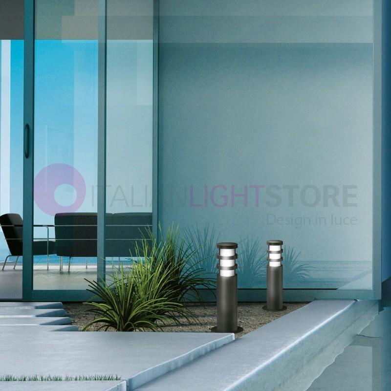 Dallas lanterne post moderne ext rieur ip54 gea ges013 - Lanterne exterieur moderne ...