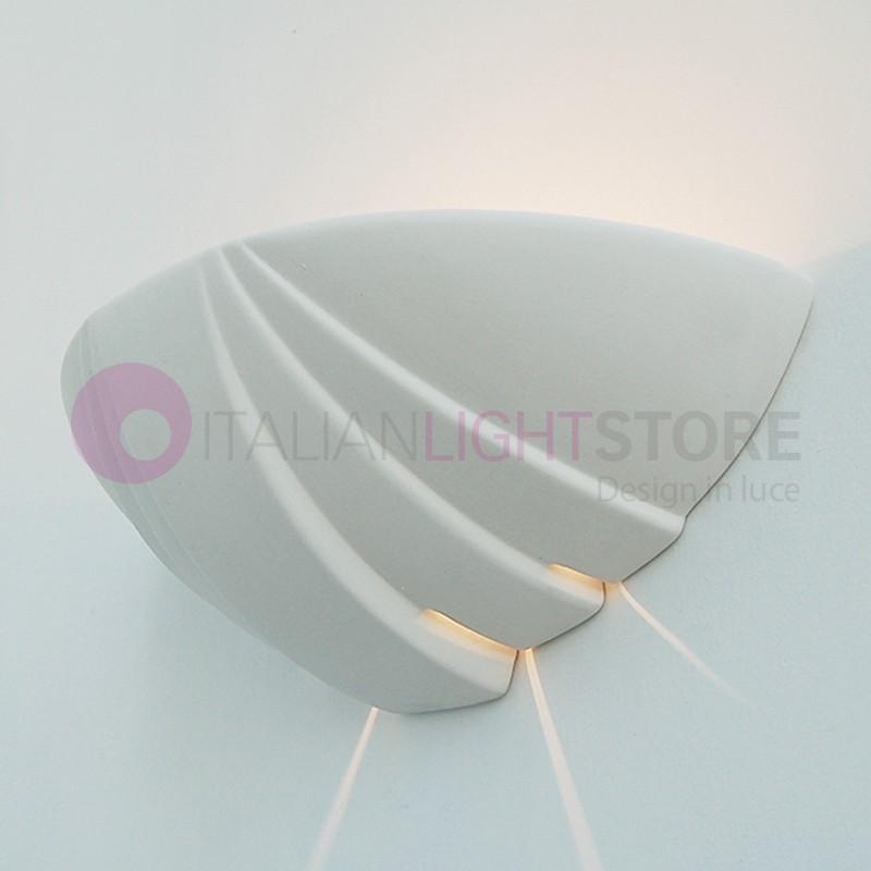 applique murale en pl tre gypse ceramique peindre personalisable. Black Bedroom Furniture Sets. Home Design Ideas