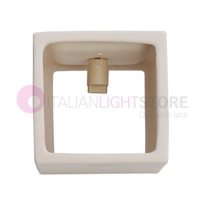 Applique ceramica gesso lampada da parete ceramica - Applique in gesso da parete ...