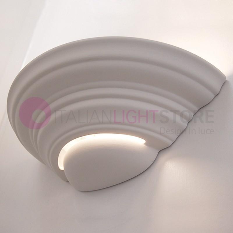 applique murale platre ceramique personalisable peinture italianlightstore. Black Bedroom Furniture Sets. Home Design Ideas