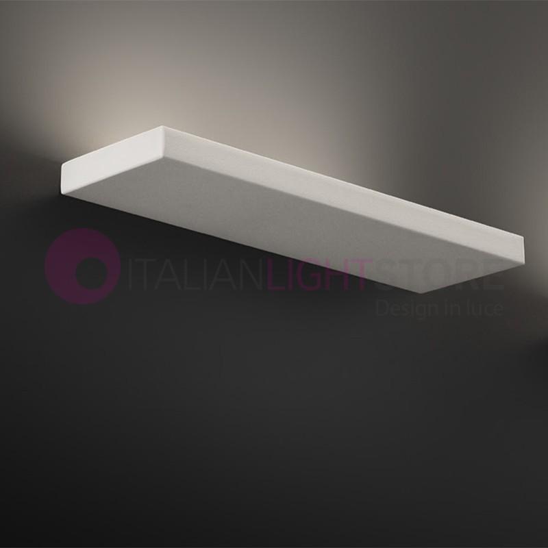 PLANA Lampada parete LED Moderna Bianco L. 30   Plana Antea Luce