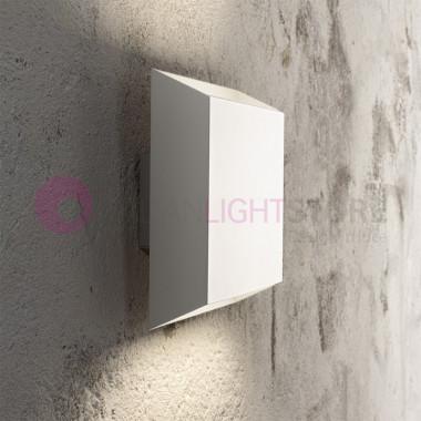 MINIMAL Lampada parete LED Moderna Bianco o tortora| Minimal Antea Luce