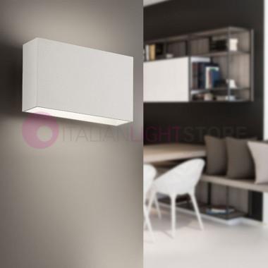 MINIMAL Lampada parete cubetto LED Bianco o tortora| Minimal Antea Luce