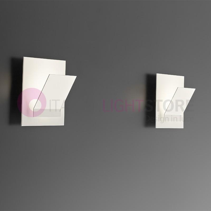 SHELF Lampada parete LED Moderna Bianco | Shelf Antea Luce
