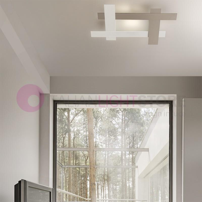FRAMING Ceiling light Led Modern L. 76X57 Design