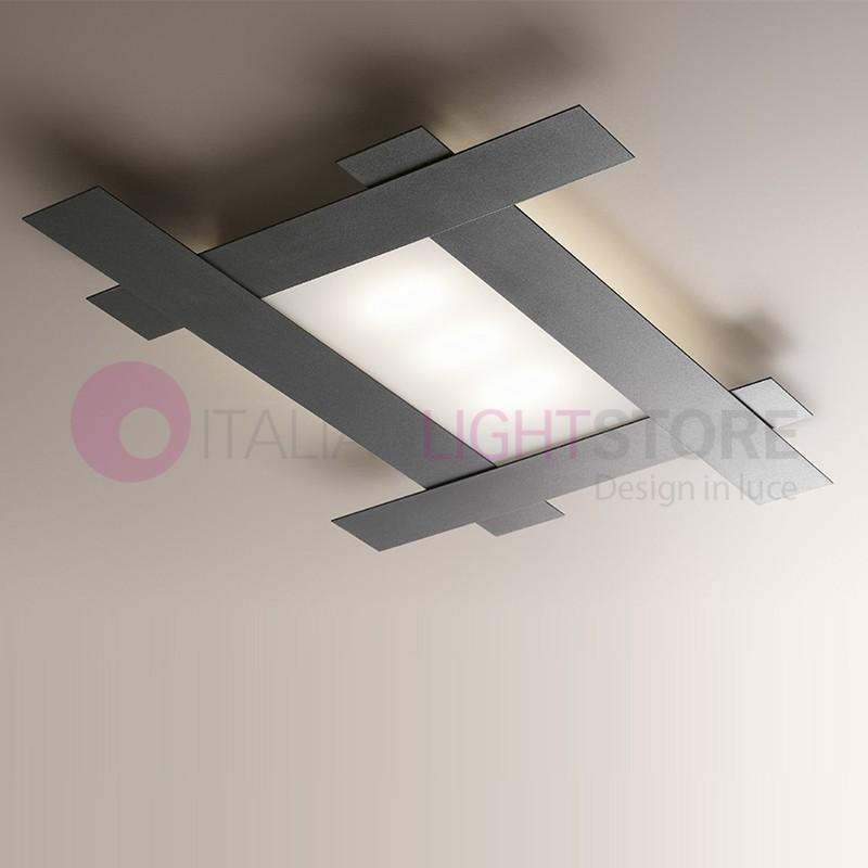 FRAMING Ceiling light Led Modern L. 94X69 Design