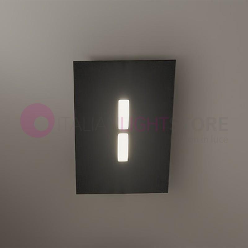 Lampada plafoniera led design moderno block antealuce - Lampada led design ...