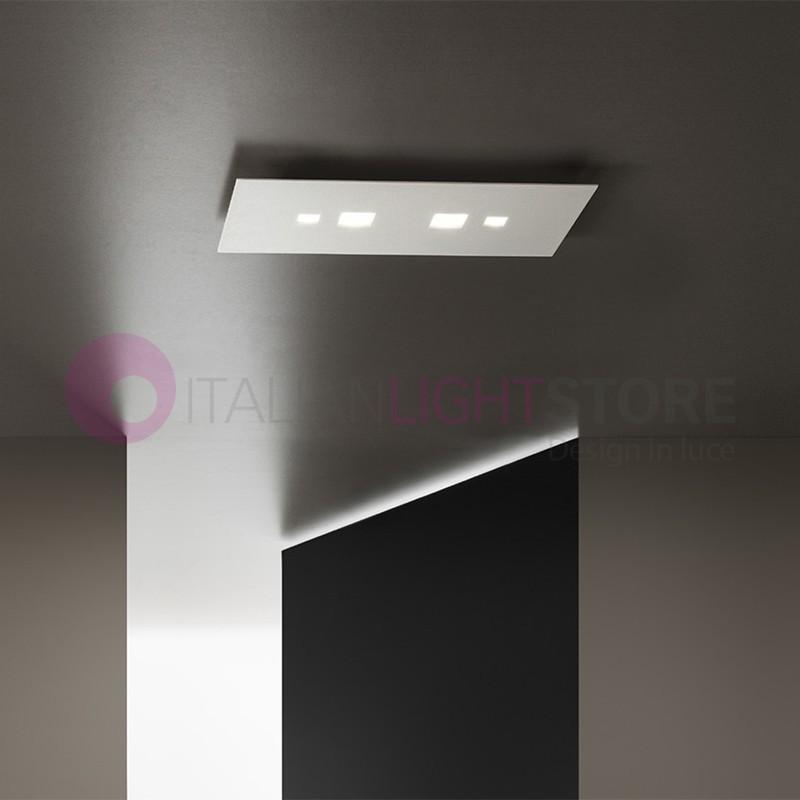 TIME  Plafoniera LED Ultrasottile Rettangolare 40x20 Design Moderno