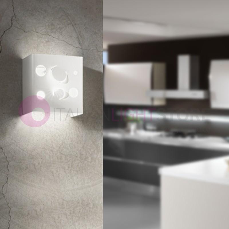 PLANET mini Lampada parete moderna Design Laser| Planet Antea Luce