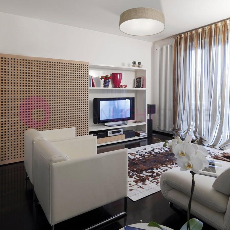 SAHARA Plafoniera a Soffitto con Paralume  D. 50 Design Moderno