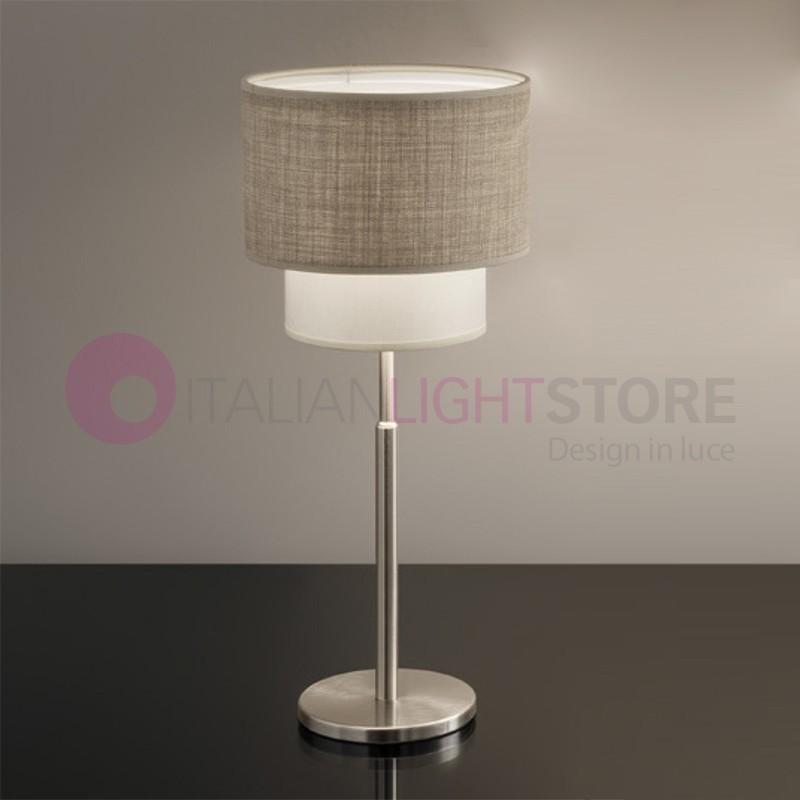 Le sahara lampe de table lampe de chevet lampe de table ombre double moderne antea lumi re - Lampe de chevet moderne ...