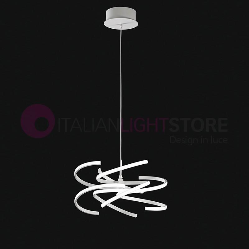 spirale de suspension lampe led design moderne perenz. Black Bedroom Furniture Sets. Home Design Ideas
