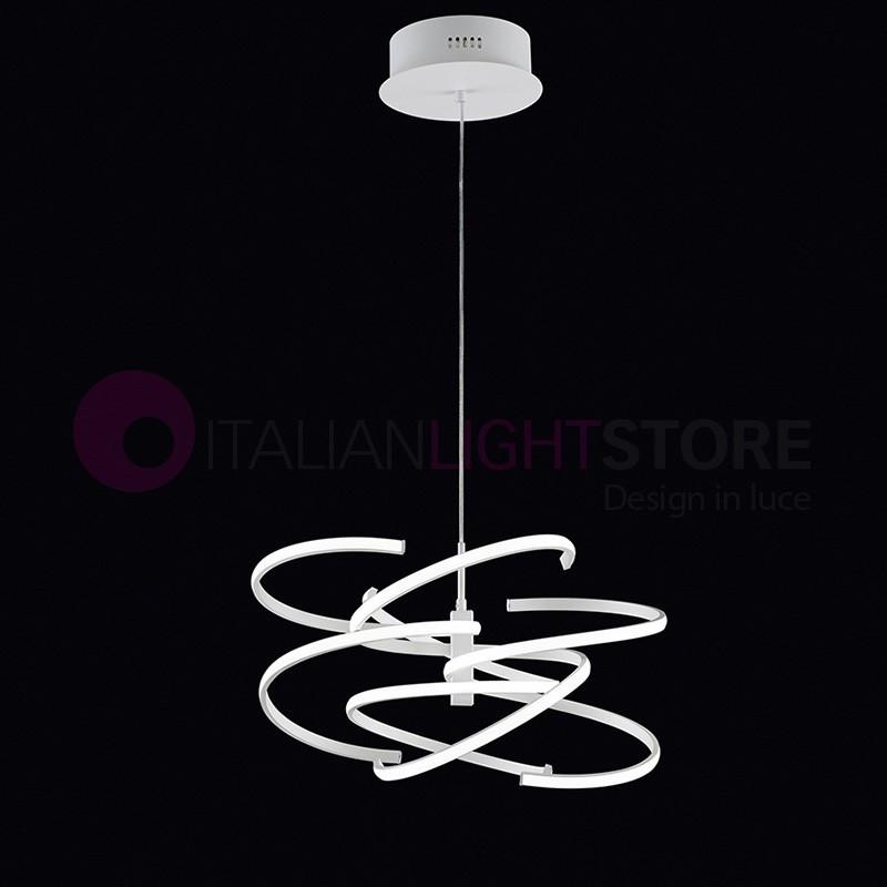 Spirale lampada a sospensione a led design moderno perenz - Lampada led design ...