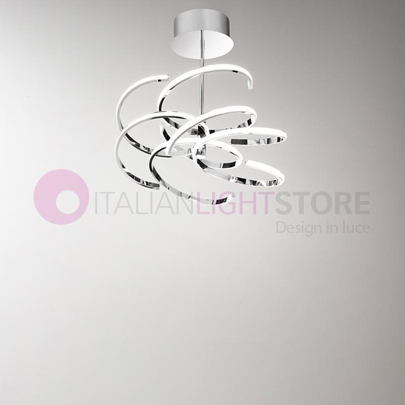 Spiral ceiling lamp ceiling light led modern design perenz aloadofball Gallery
