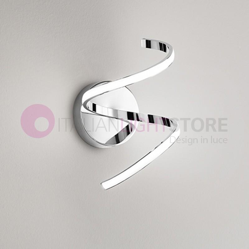 Spirale lampada a parete a led design moderno perenz - Lampada led design ...