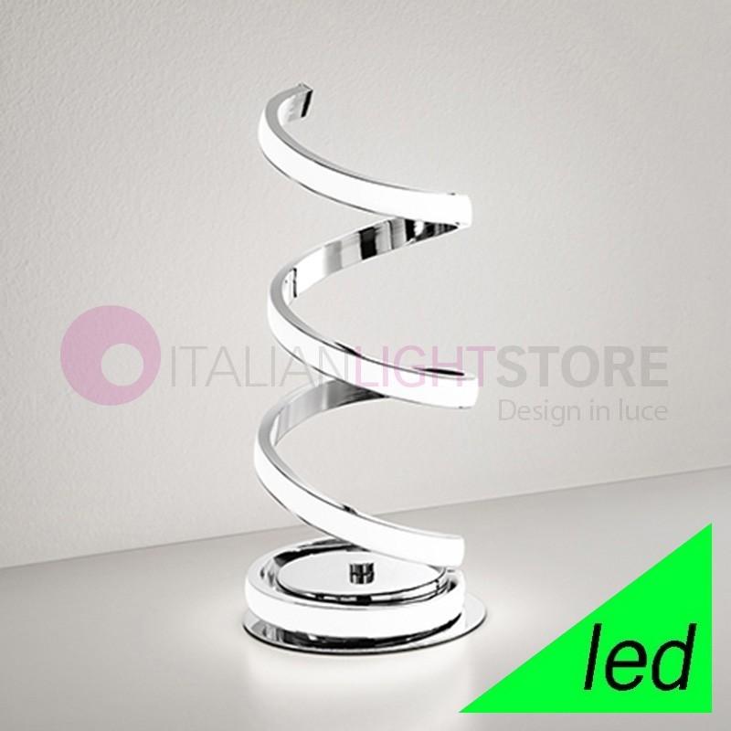 Spirale lampada da tavolo a led design moderno perenz - Lampada led design ...