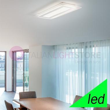 REGENT Lampada a Soffitto a LED L.70x30 Design Moderno | Perenz