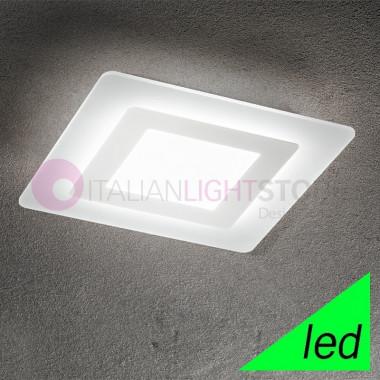 REGENT Lampada a Soffitto a LED L.35x35 Design Moderno | Perenz
