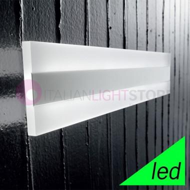 REGENT Applique Lampada a Parete a LED L.60x10 Design Moderno | Perenz