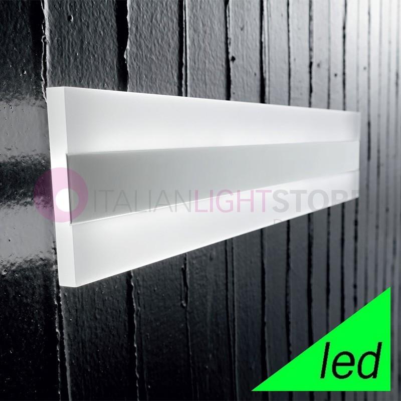 REGENT Applique Lampada a Parete a LED L.60x10 Design Moderno