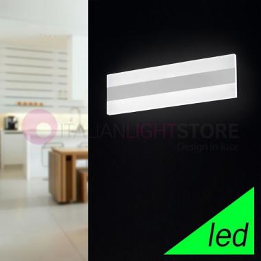 REGENT Applique Lampada a Parete a LED L.35x10 Design Moderno | Perenz