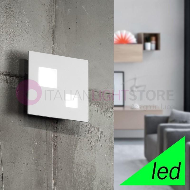 SKOOP Plafoniera Piatta Soffitto e Parete a LED L.15 Design Moderno