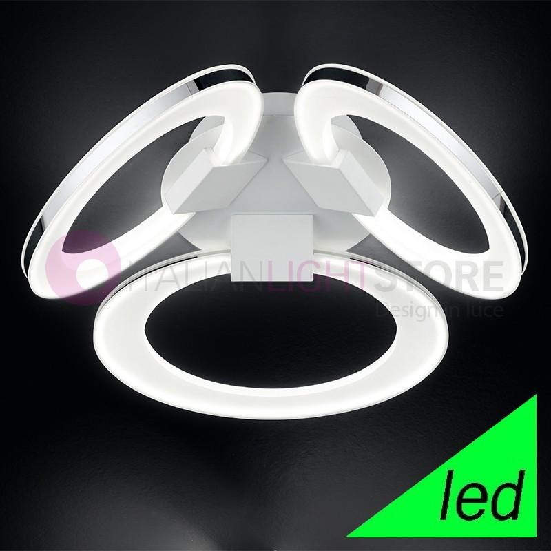 SPIRIT Plafoniera Lampada a Soffitto a LED 3 luci Design Moderno