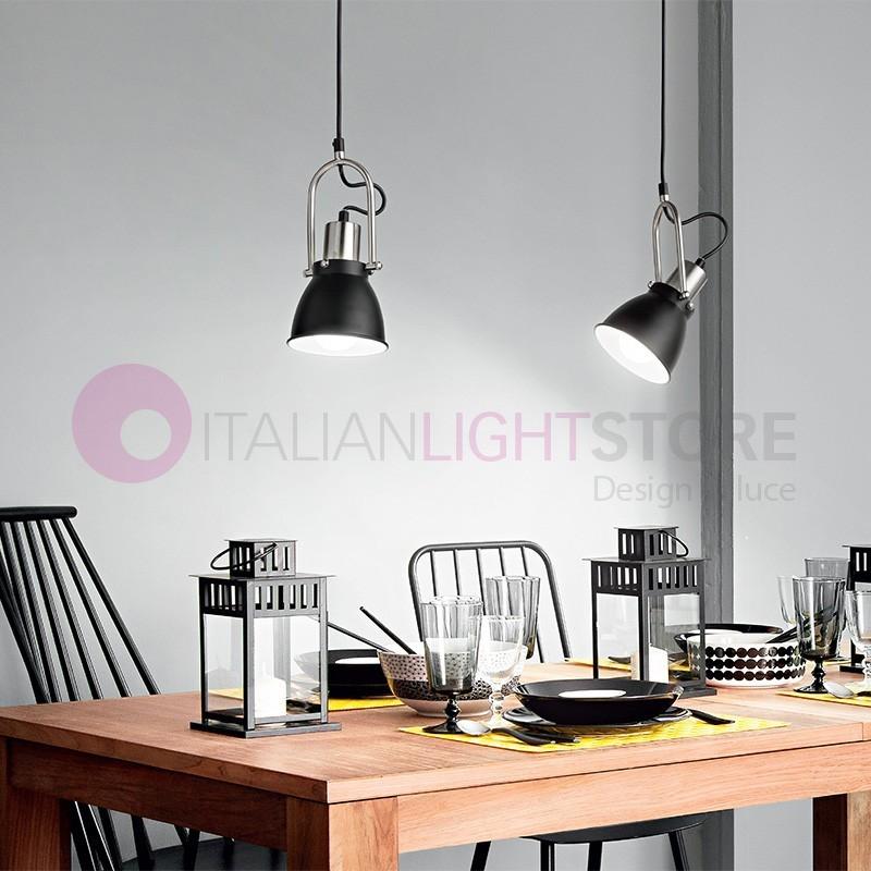 YORK Plafoniera Lampada a Soffitto Orientabile Design Moderno