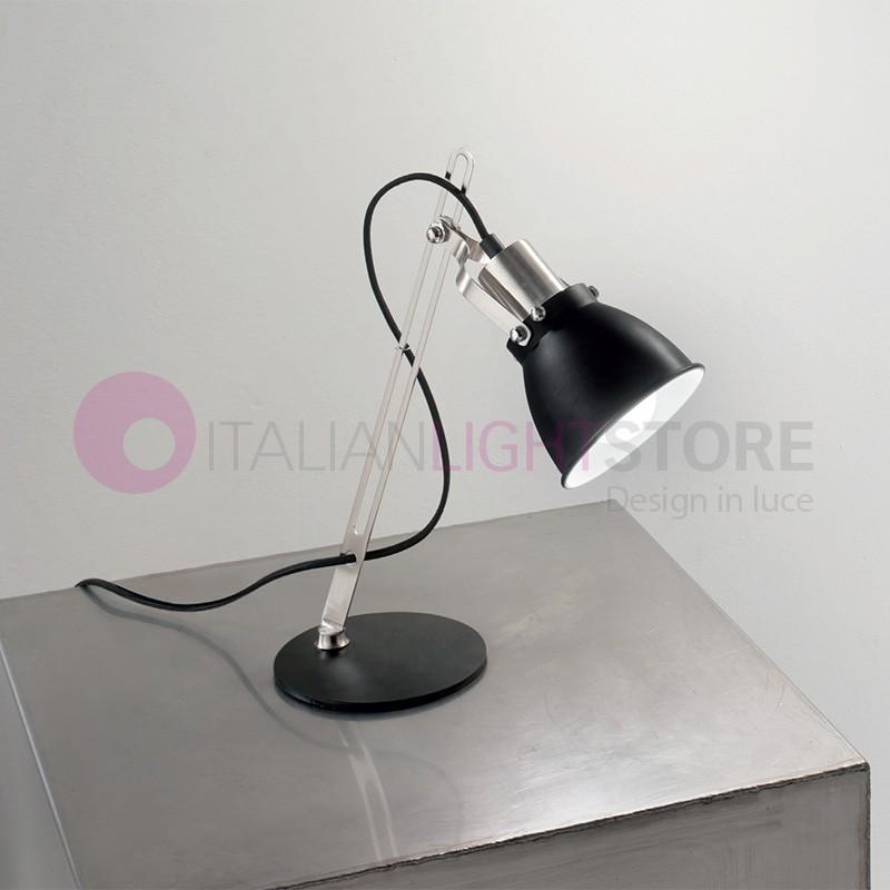 Lampada Da Tavolo Design.York Lampada Da Tavolo Orientabile Design Moderno