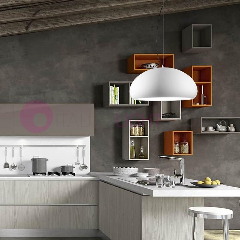 Nikos lampada a sospensione moderna d40 stile industriale - Lampade a sospensione moderne design ...