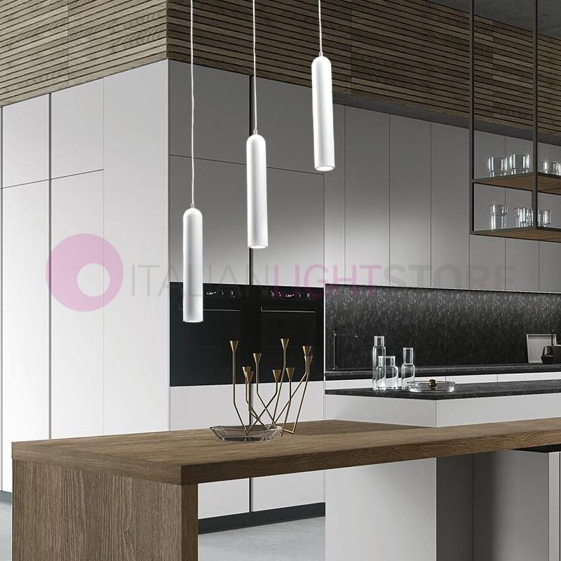 Tonus lampada a sospensione 3 luci moderna tavolo pranzo - Lampade a sospensione moderne design ...