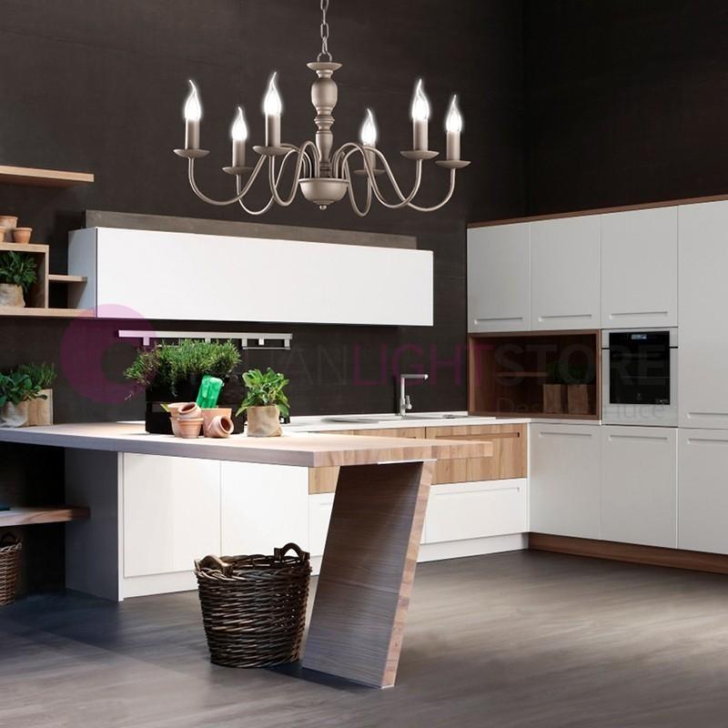 Lampadari in stile provenzale - Lampadari cucina country ...