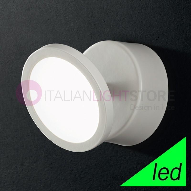 UPPER Faretto Orientabile Bianco a LED Design Moderno