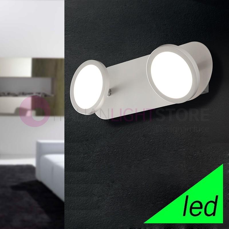 UPPER Spotlight 2 Lights Adjustable White LED Modern Design