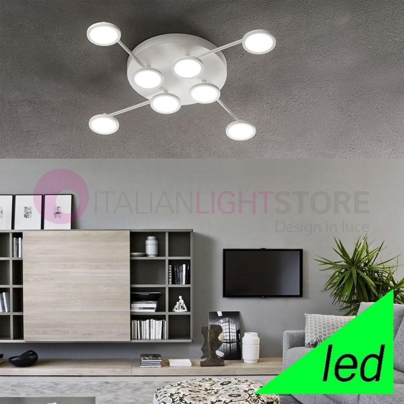 UPPER Ceiling light with 8 LED Lights Modern Design
