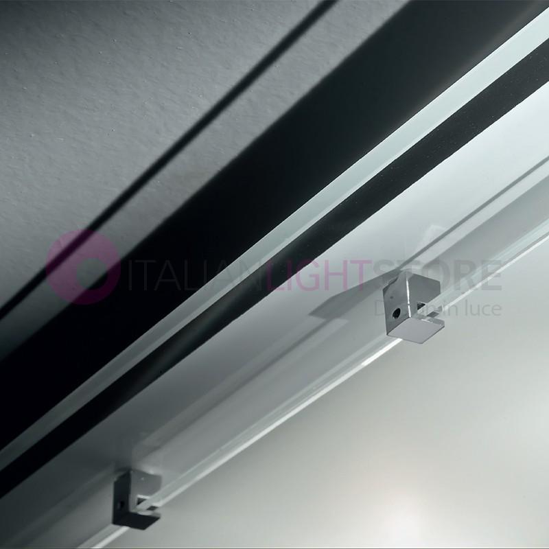 plafonnier lustre plafond de verre blanc design moderne. Black Bedroom Furniture Sets. Home Design Ideas