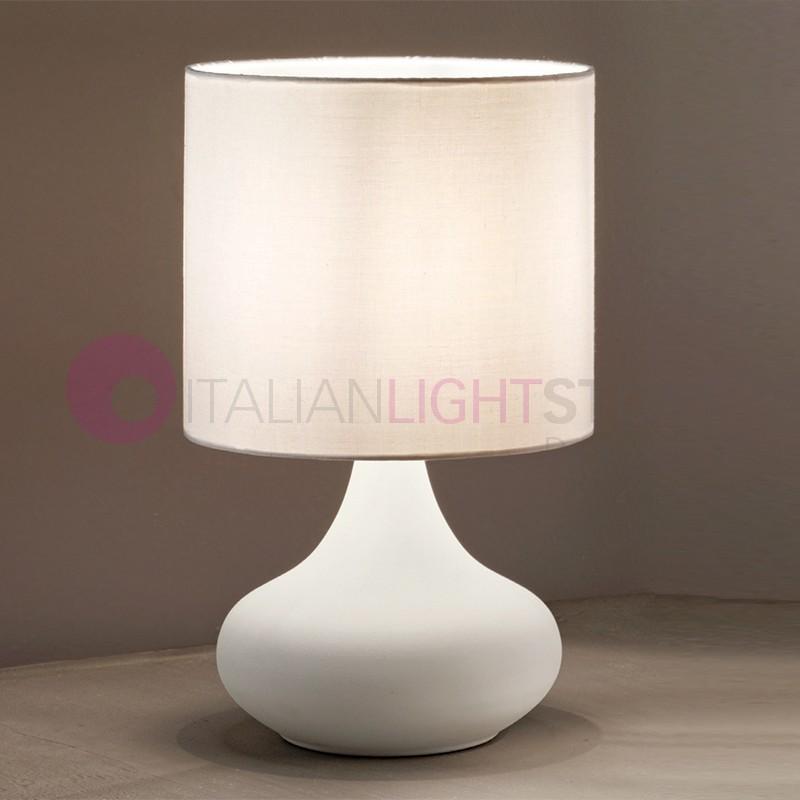 pienza lampe de table table de chevet abat jour classique de campagne rustique en fer forg. Black Bedroom Furniture Sets. Home Design Ideas