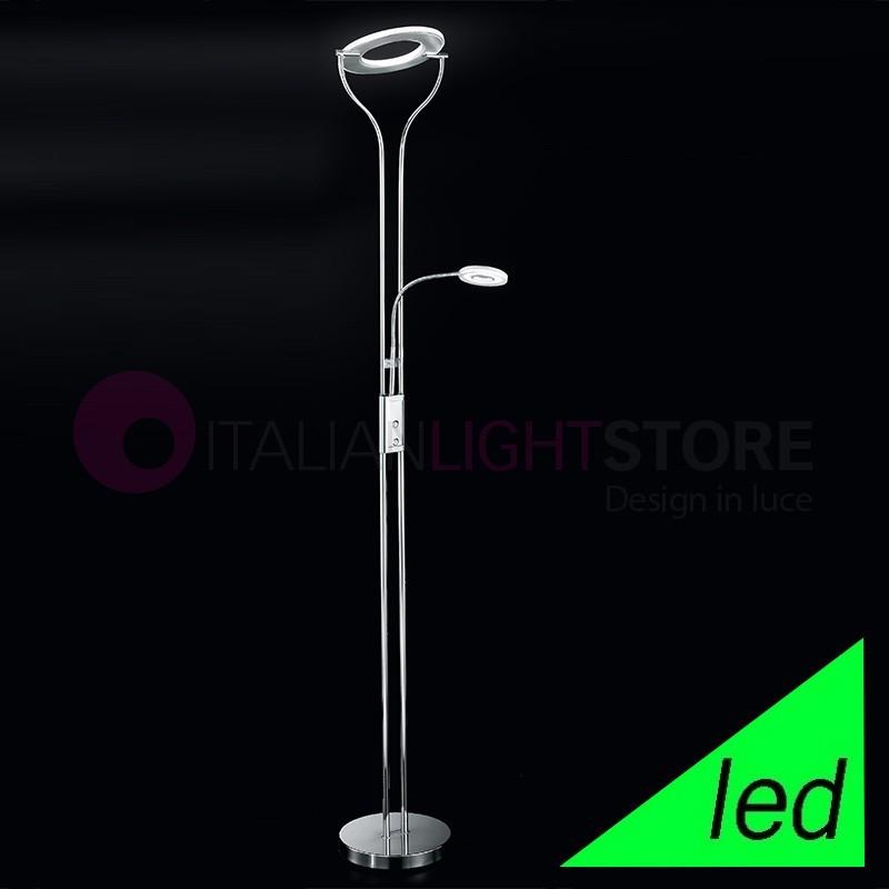 CARTESIO Lampada da Terra a LED Design Moderno