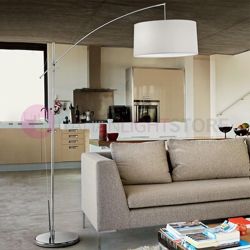 CASABLANCA floor Lamp Modern Arc Lamp with