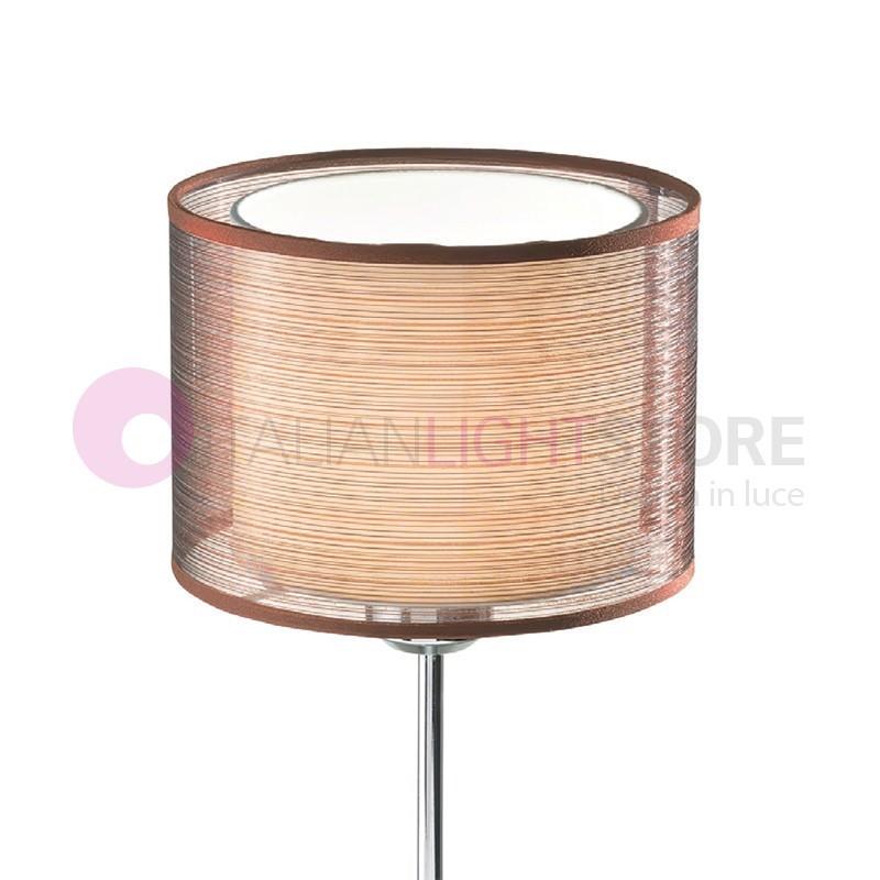pienza lampe de table table de chevet abat jour classique. Black Bedroom Furniture Sets. Home Design Ideas