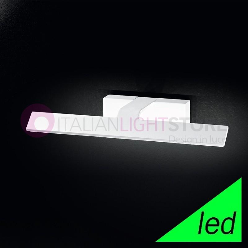 IDEAL Lampada da Parete a LED Bianca L. 36,5