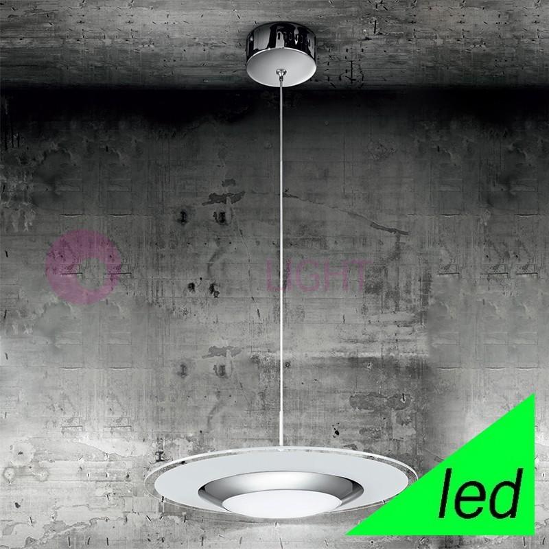 KALÌ Lampada a Sospensione a LED in Vetro d.50