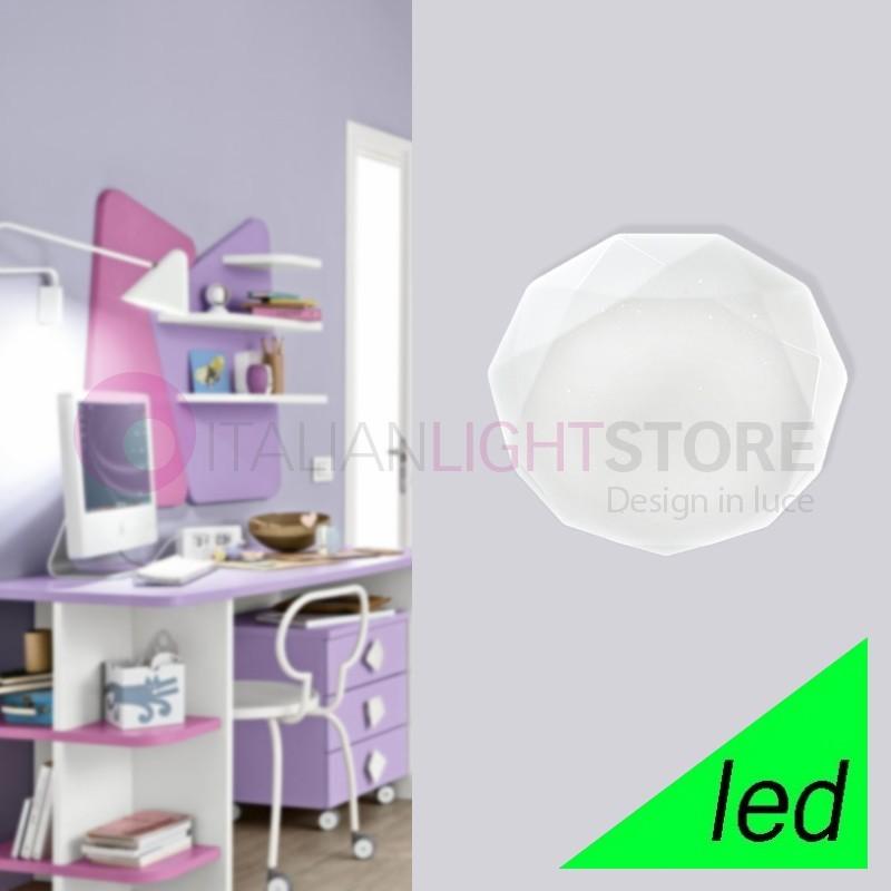 SCINTILLA Plafoniera Lampada a Soffitto a LED D. 35 in acrilico