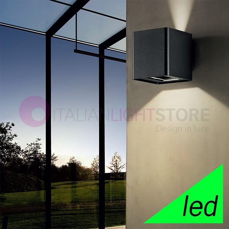 MIKADO Cubetto Moderno Led Illuminazione Esterno IP54
