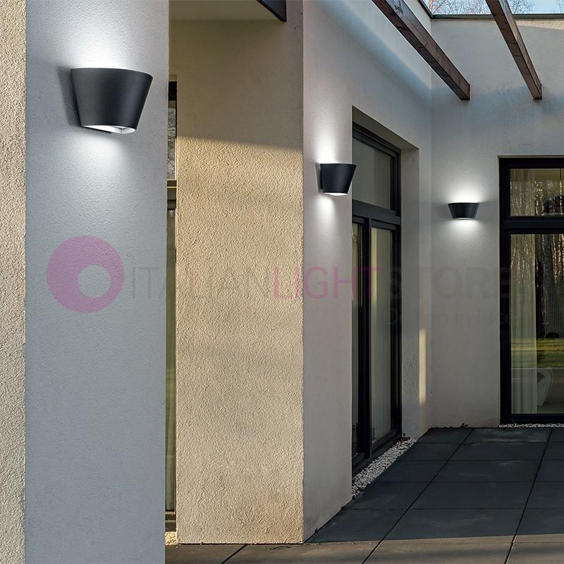 OPERA Lampada a Parete Moderna per Illuminazione Esterno IP54