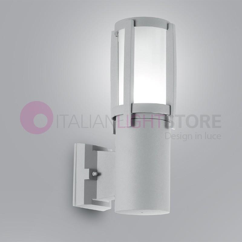 GALASSIA Lampada a Parete Moderna per Illuminazione Esterno IP44