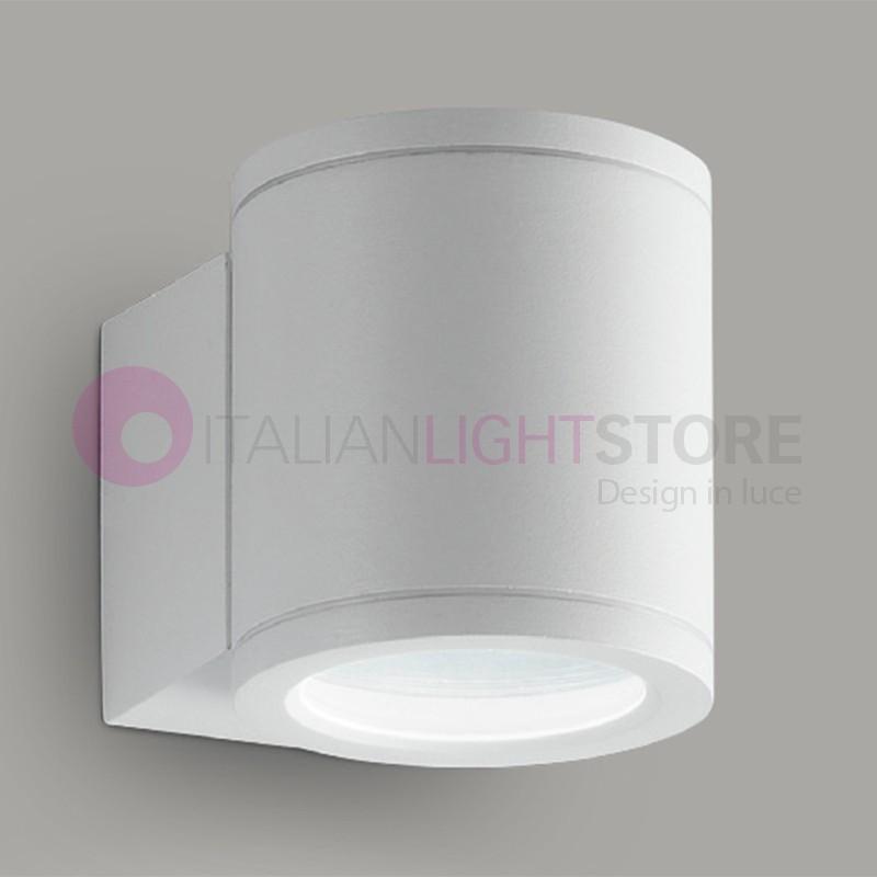 OPUS Lampada a Parete 1 Luce Faretto Moderno GU10 Illuminazione Esterno IP54